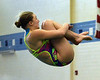 Bob Raines--Digital First Media  //<br /> Kaylee Hermann (Upper Moreland) competes in the PIAA District One Girls Diving Championship Feb. 25, 2017