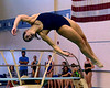 Bob Raines--Digital First Media  //<br /> Paige Burrell (North Penn) competes in the PIAA District One Girls Diving Championship Feb. 25, 2017