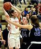 Megan Bealer -- Souderton / Central Bucks South, March 16, 2017.   (Bob Raines / Digital First Media)