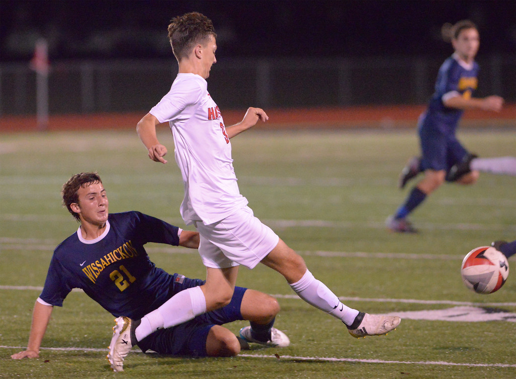 . Wissahickon at Hatboro Horsham boys soccer Oct. 10, 2017. / Bob Raines--Digital First Media