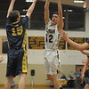 Gene Walsh — Digital First Media<br /> Upper Merion boys basketball takes on Newcastle-Antrim in first round of PIAA State Tournament at Cheltenham High School March 10 , 2017.