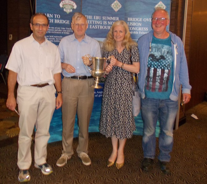 2016 winners - Cambs & Hunts:  Victor Milman, David Kendrick, Catherine Curtis, Paul Fegarty, Jon Cooke (not pictured)