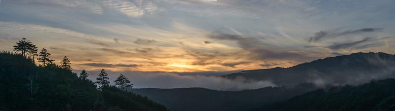 Sunset Panorama, Point Reyes