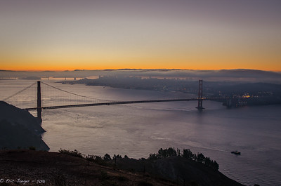 Dawn over the Golden Gate