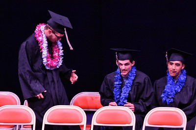 Cool entry for a Pacific Coast graduate-to-be.  (José Quezada—For the Times-Standard)