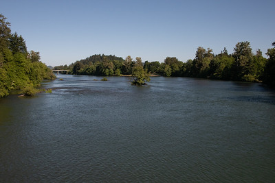 Willamette River in Eugene; OR