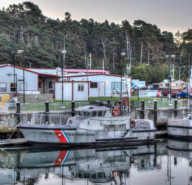 Noyo Harbor, Fort Bragg, California