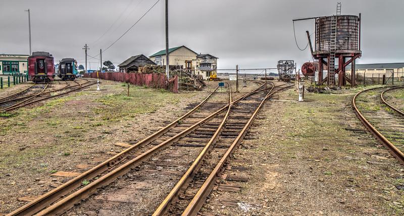 California Western Railroad, Skunk Train, Fort Bragg, California