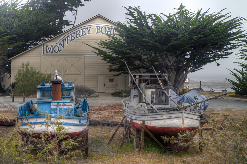 Monterey Boat Works<br /> Cannery Row, Monterey, California