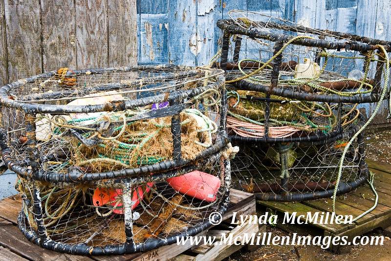 Crab cages, Newport, OR