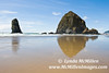 Iconic Haystack Rock, Cannon Beach (landscape)