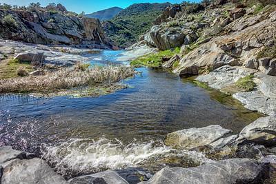 Kitchen Creek Falls, Pacific Crest Trail Scetion A