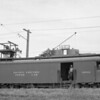 Pacific Electric 00162 on the Corona Line in Corona during April of 1937.<br /> <br /> Photographer Art Alter<br /> Jeffrey Moreau Collection