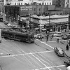 Through the Three Way Intersection - 1950