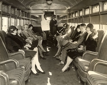 To Los Angles by Steamer Train
