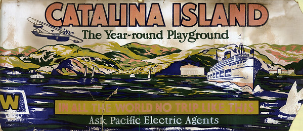PE Catalina Island car card cc a