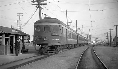 Passenger Stop at Willow Street - circa 1950