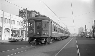 Los Angeles Limited on American Avenue - 1951