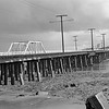 The Old Pacific Electric Trestle at Anaheim Bay 1942