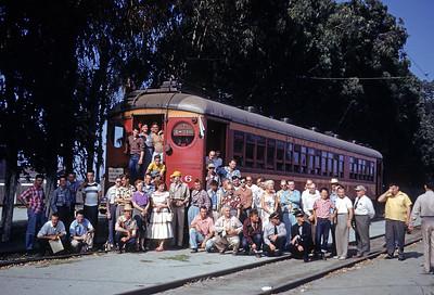 Group Photos at Torrance Shops - 1953