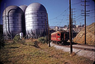 San Pedro via West Basin Line - 1955