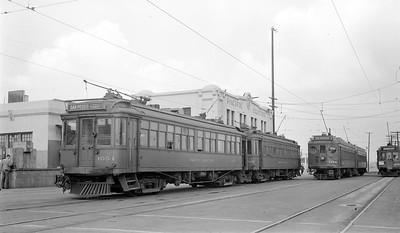 Train Time at PE San Pedro Station - 1946