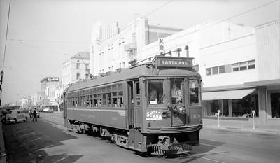 4th Street in Santa Ana - 1950