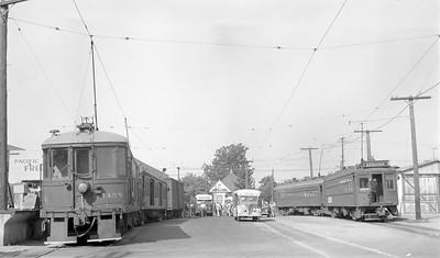 World War II Troop Transfer at PE Santa Ana Station - 1944