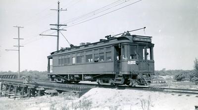 Santa Ana Line at Morton, 1940