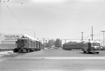 The Yard at PE Santa Ana Station - 1950