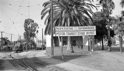 Pacific Electric Orange Depot - 1943