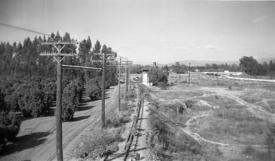 PE Orange Tower Looking East - 1940