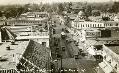 Standard on the Santa Ana - Orange Local Line, Circa 1926