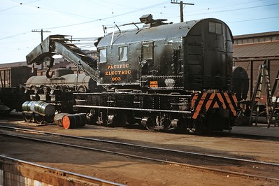 PE 003 at Butte St Yard 012453 RAB