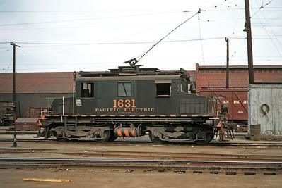 Pacific Electric Railway 1631