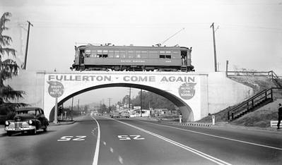 PE 1057 Fullerton Line Spadra bridge Bay Area Special 022249 REYc UNK