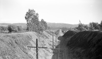 Looking East from the Lakeview Ave Bridge, Yorba Linda