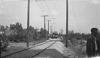 Railroad Boosters Railfan Ramble at Spadra Rd Bridge - 1941