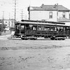 Pacific Electric 243 on the Hollywood Blvd Line is seen running inbound to downtown Los Angeles at Temple Street circa 1914.<br /> <br /> Photographer Unknown<br /> Jeffrey Moreau Collection