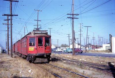 Crossing Culver Junction - 1950