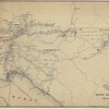 Pacific Electric Ry System Map with Crew Districts 1913