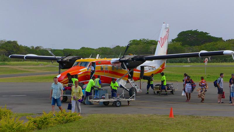 Landing on Tanna Island