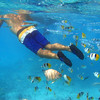 Snorkeling Aitutaki Lagoon