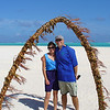 Robyn and Russell on Honeymoon Island.