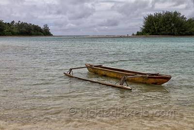 Vaka in Muri Lagoon