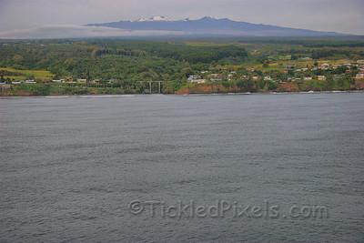 Snowcapped Mauna Kea