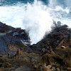 Blowhole near Halona Cove on Oahu.