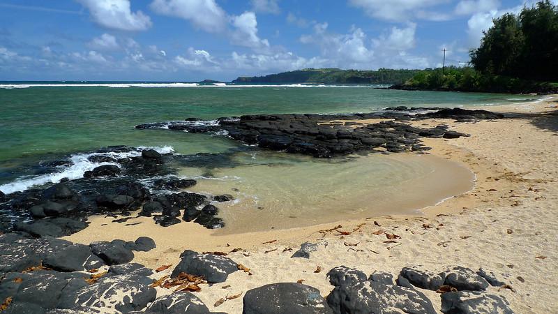 Hanapai Beach on the north coast of Kauai.
