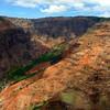 Waimea canyon.