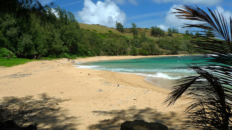 Larsen's Beach at Moloa'a on the east coast of Kauai.